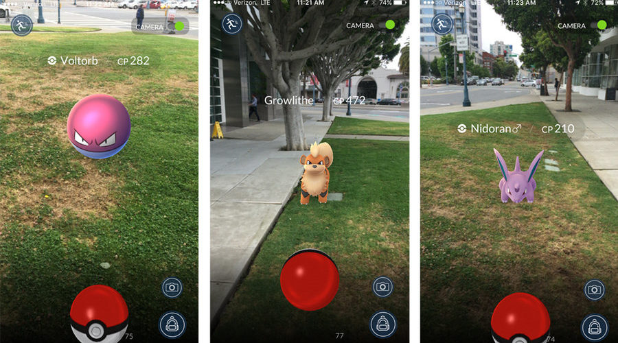 Pokemon-Go-Augmented-Reality-Geolocation
